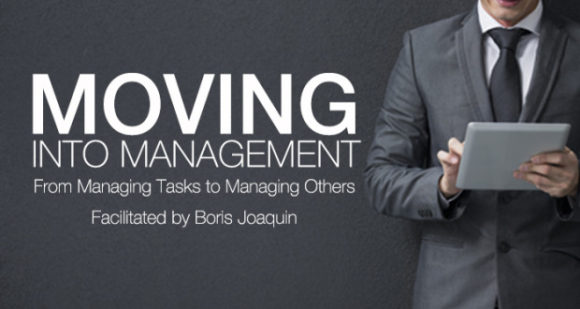 Moving Into Management